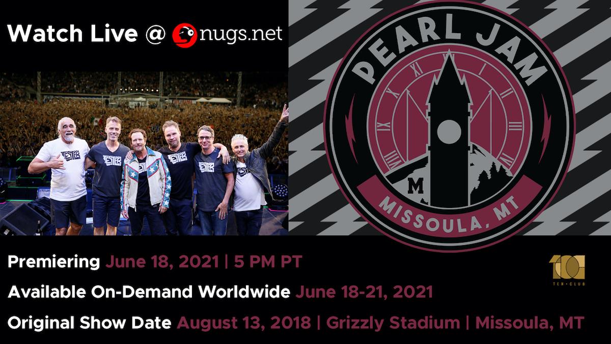 Pearl Jam - Watch Tonight